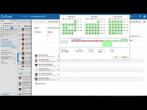 OnTime IBM Desktop / Pollarity - Creating a poll