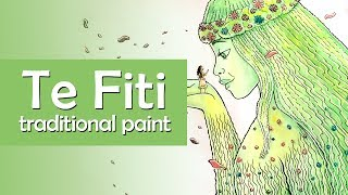 TE FITI - Time-lapse traditional paint