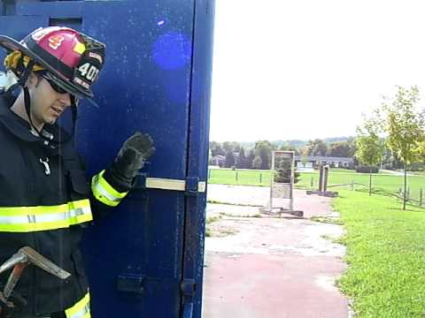 Outward Swinging Door Forcible Entry Youtube