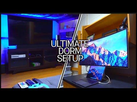 The ULTIMATE Dorm Setup TOUR!