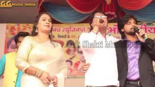 Bhojpuri heroine varsha tiwari, vijay lal yadav with rakesh mishra, new program
