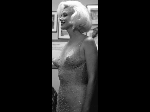 Marilyn Monroe~ Happy Birthday Mr. President $4.8 Million Gown~Lovely To Look At