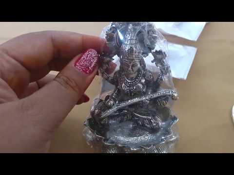 Repeat Silver pooja items with price & weight| Silver return
