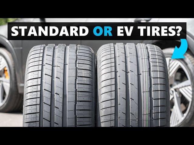 Tire Comparison Finds EV Rubber To Bring Real-World Advantages
