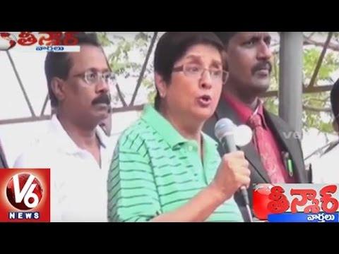 Lieutenant Governor Kiran Bedi Angry On Officers || Puducherry Swachh Bharat || Teenmaar News