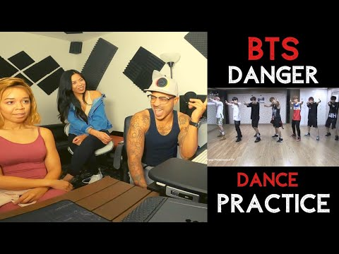 BTS (방탄소년단) 'Danger' Dance Practice - KITO ABASHI REACTION