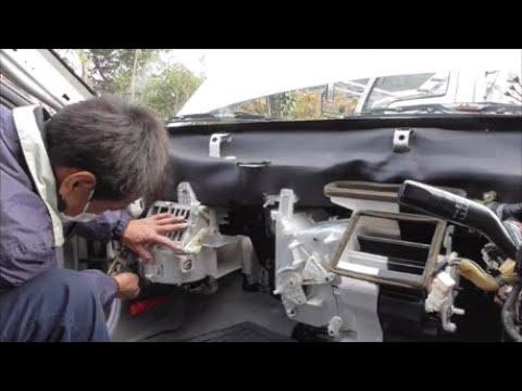 MAZDAカペラのヒーター修理風景(三日目)Heater Repair (Day3) Mazda Capella