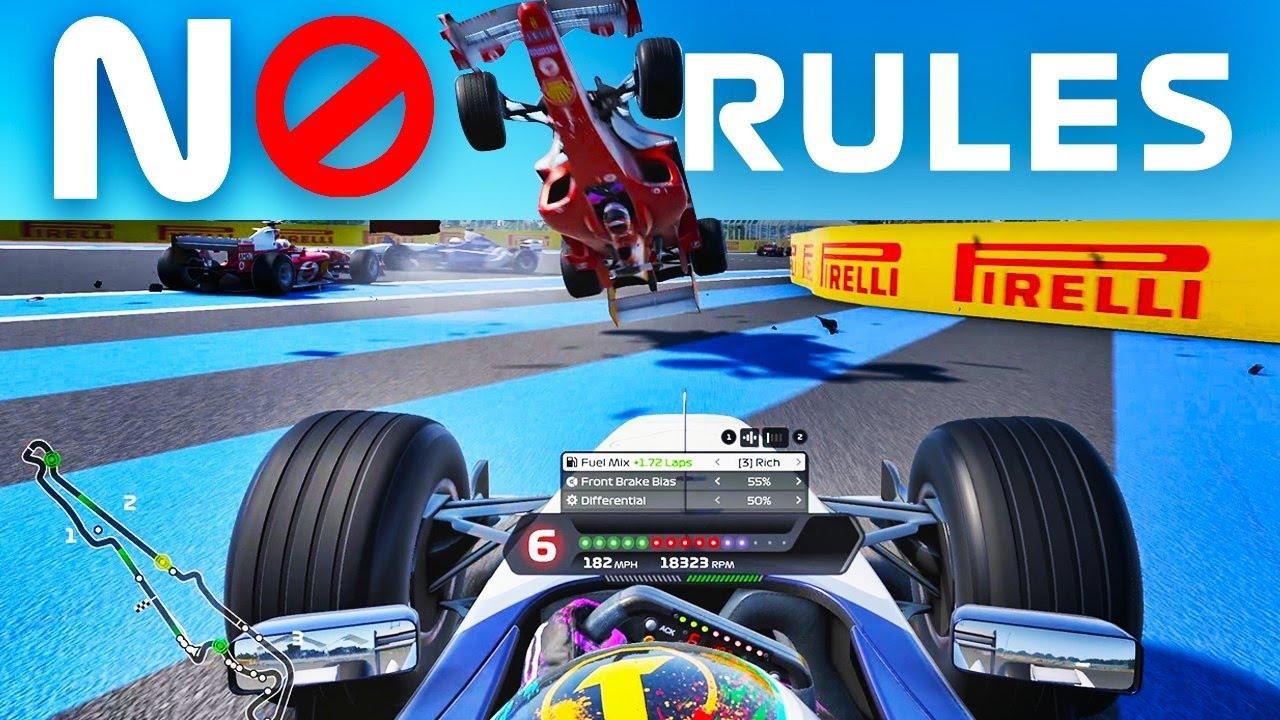 F1 2020 No Rules Racing at France