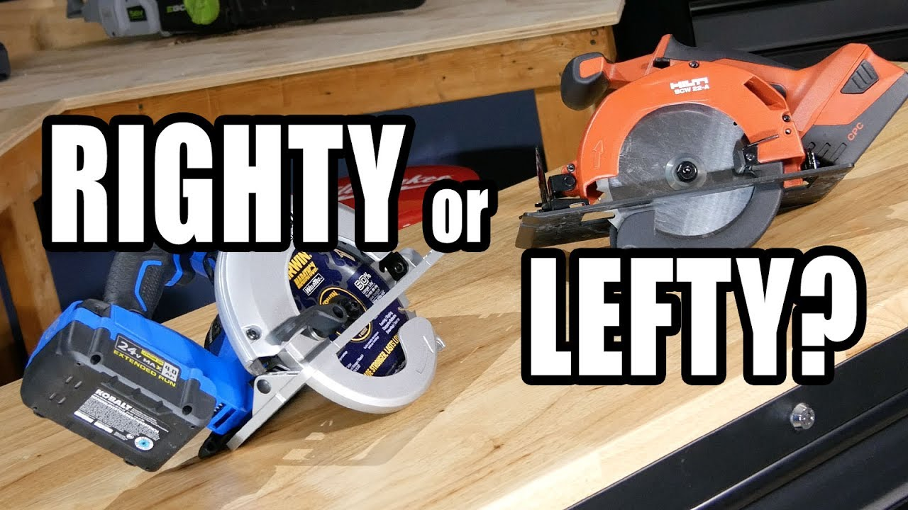 Left blade vs right blade circular saws youtube left blade vs right blade circular saws greentooth Gallery