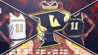 NBA 2K18 Pittsburgh Predators MyLeague Ep. 1 - JERSEY AND COURT DESIGN!!! | EXPANSION!