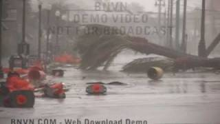 8/29/2005 Hurricane Katrina, New Orleans, La - Video On Canal Street - Katrina Raw Master 16