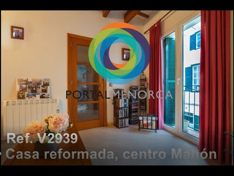 Renovated house in the centre of Mahón