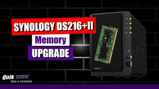Synology DS216+II Memory Upgrade