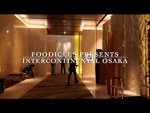 Intercontinental Osaka Hotel and Room Tour