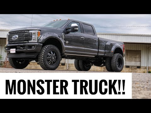 2018 F350 Black Widow - Lifted Dually! Southern Comfort Performance