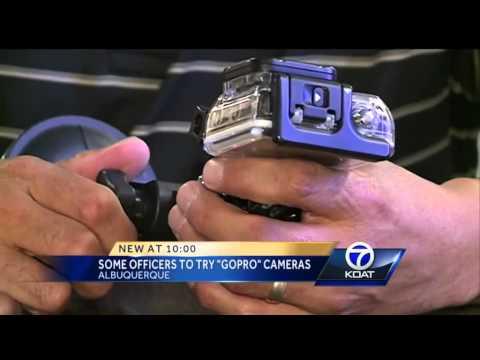 Albuquerque Police Dept. detectives to use GoPro cams