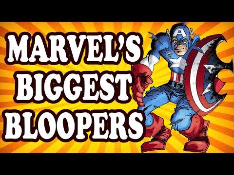 Top 10 Marvel Comic Book Bloopers — TopTenzNet