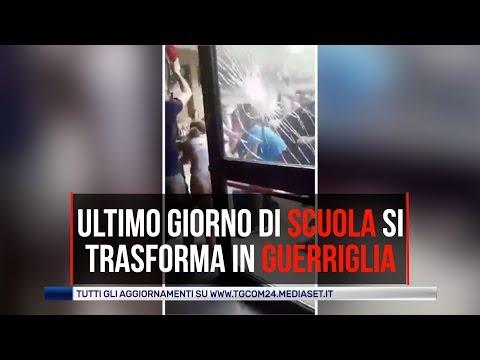 Pavia, ultimo giorno di scuola si trasforma in guerriglia: feriti tre docenti