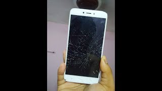 LCD Screen Display Cracked / broken replacement cost in   Redmi 4 , note 4 ,mi  y1 in hindi