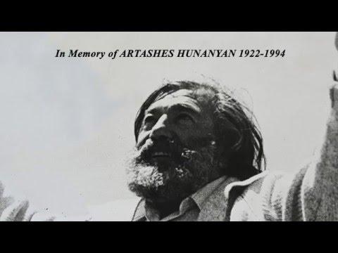 ARTASHES HUNANYAN  -  Armenian Artist (1922-1994)  Արտաշես Հունանյան