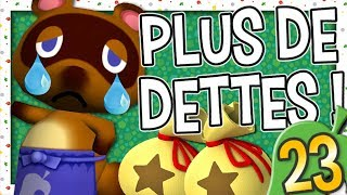 ON NE DOIT PLUS D'ARGENT A NOOK ! | ANIMAL CROSSING EPISODE 23 NINTENDO WII FR