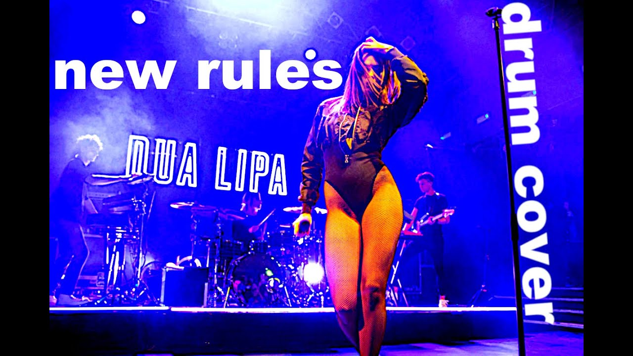 Dua Lipa - New Rules | DRUM COVER | 4K | by Greg The Groove