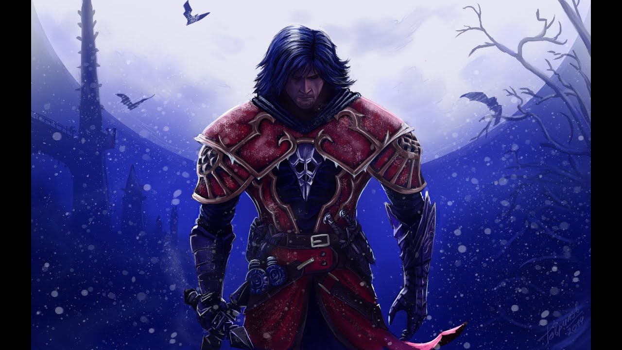 How to Draw Castlevania Lords of Shadow (Speed painting in ...