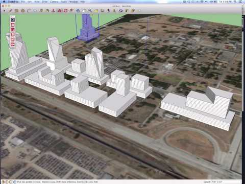 SketchUp to BIM for City Modeling
