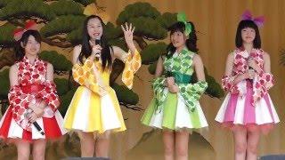 りんご娘&アルプスおとめライブ 2016.5.5 10:30~ 弘前さくらまつり 弘...