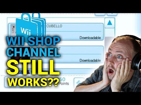 Wait... The Wii Shop Channel STILL WORKS???