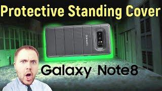 Galaxy Note 8 Protective Standing Cover - обзор оригинального чехла!