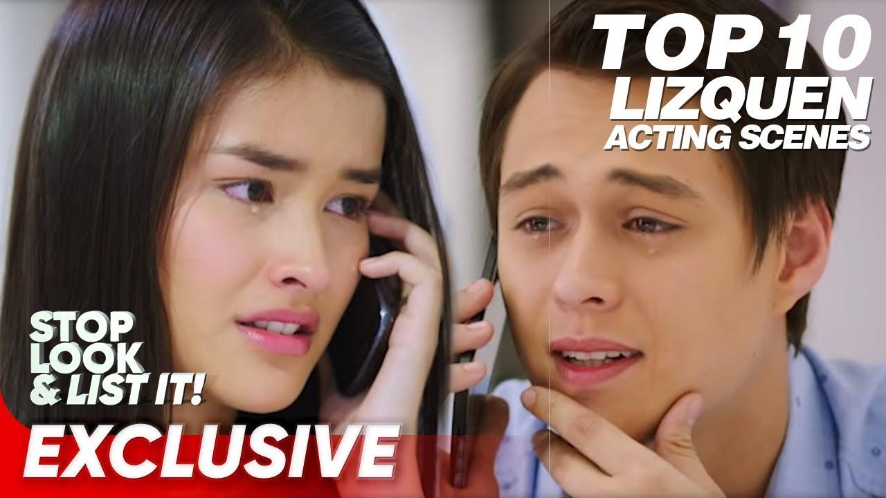 Download Top 10 LizQuen Acting Scenes | Liza Soberano, Enrique Gil | Stop, Look, and List It!