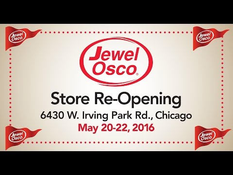 Jewel-Osco Store Re-Opening Celebration