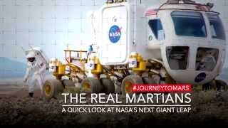 Real Martians Moment: Next Generation Spacesuits