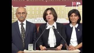 Eğitim ve YÖK komisyonu basın açıklaması