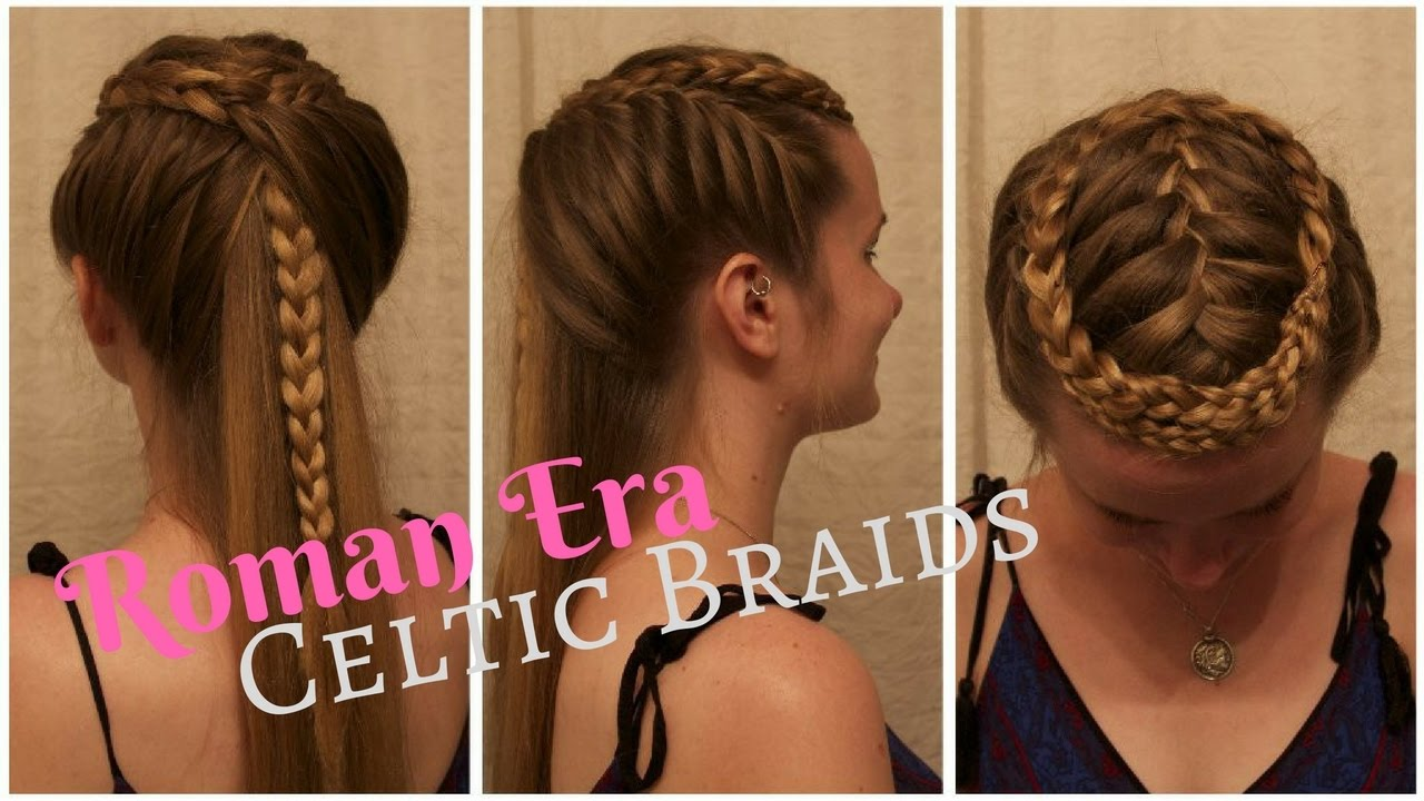 "celtic warrior braids inspired by the film, ""centurion."""
