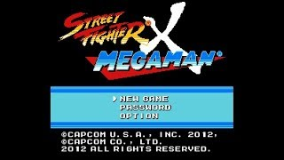 Let's Play Street Fighter X Mega Man! (Part 1)