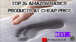 TOP 26 AMAZON BASICS PRODUCTS AT CHEAP PRICE...!!
