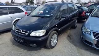 Осмотр Opel Zafira 1.8 бензин-газ 2003