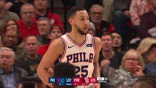 Portland Trail Blazers vs Philadelphia 76ers | November 2 2019