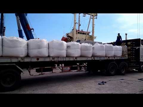 SCMarine - Loading in bulk @ jumbo bags for product concentrate potash
