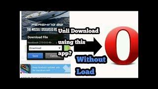 Gambar cover Unlimited Browsing and Downloading gamit ang Opera Mini kahit walang load
