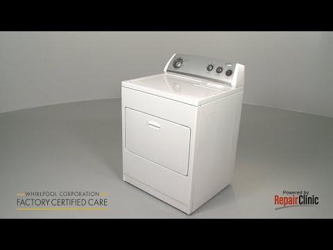 Left Support Roller Shaft - Whirlpool Dryer 11079622800