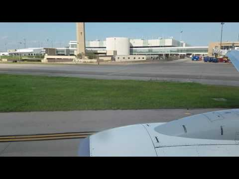 WestJet Airlines Boeing 737-600  takeoff  from Houston Intercontinental Airport (IAH) to Calgary