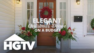 Budget-Friendly Outdoor Holiday Decor - HGTV