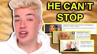 JAMES CHARLES CAN'T STOP STEALING CONTENT (SPECIAL WEEKLY TEACAP)