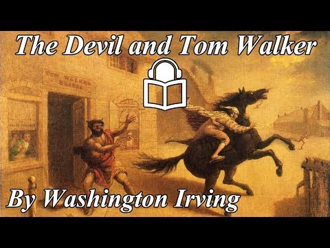 The Devil and Tom Walker by Washington Irving.read by Joseph Finkberg.unabridged audiobook