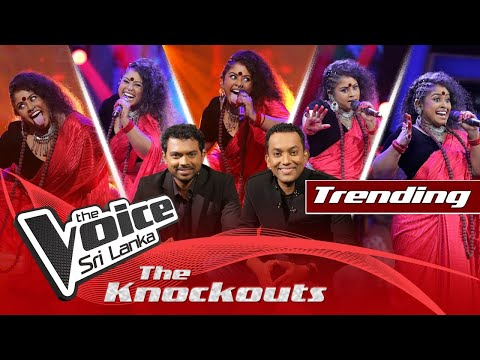 Upendra Siriwardana   Maaya Enawa (මායා එනවා)   The Knockouts   The Voice Sri Lanka
