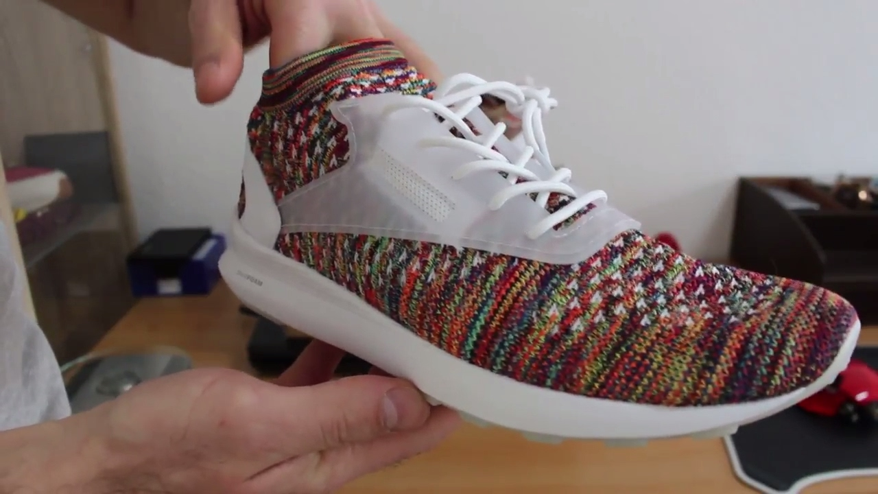 Made of Fire Reebok Zoku Runner Ultra knit Multicolor Unboxing and Review 2219e7661