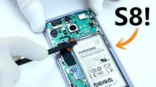 Como es un Galaxy S8 por DENTRO? - DESMONTAJE TOTAL!